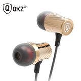 Original QKZ X9 Earphone and Earphones Supper Bass High-Qaulity Headset With Mic headset For iPhone Smartphone fone de ouvido-Earphones-Devices Depot-KoolWish.com