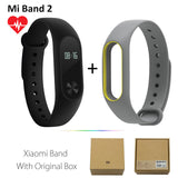 Original Xiaomi Mi Band 2 1S 1 Smart Wristband Bracelet xiomi miband2 Heart Rate Fitness Tracker miband band2 For IOS Android-Devices Depot-2 Add GrayY Strap-United States-KoolWish.com