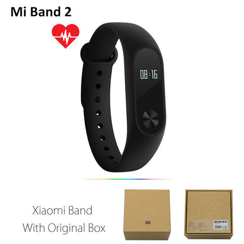Original Xiaomi Mi Band 2 1S 1 Smart Wristband Bracelet xiomi miband2 Heart Rate Fitness Tracker miband band2 For IOS Android-Devices Depot-Mi Band 2-United States-KoolWish.com