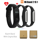 Original Xiaomi Mi Band 2 1S 1 Smart Wristband Bracelet xiomi miband2 Heart Rate Fitness Tracker miband band2 For IOS Android-Devices Depot-2 Add Orange Strap-United States-KoolWish.com