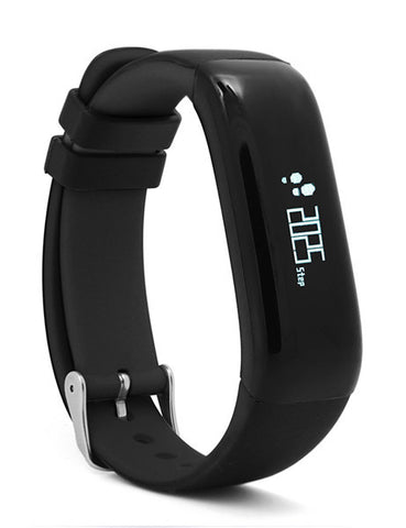 P1 Smartband Watches Blood Pressure Bluetooth Smart Bracelet Heart Rate Monitor Smart Wristband Fitness for Android IOS Phone-Devices Depot-Black-KoolWish.com