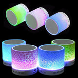 Portable Mini LED Bluetooth Speakers Wireless Small Music Audio TF USB FM Light Stereo Sound Speaker For Phone Xiaomi with Mic-Devices Depot-KoolWish.com