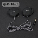 ShiniQ940 Free Shipping Headphones 3.5mm Headset EarHook Earphone For Mp3 Player Computer Mobile Telephone Earphone Wholesale-Headphones-Devices Depot-Q940 Black-KoolWish.com
