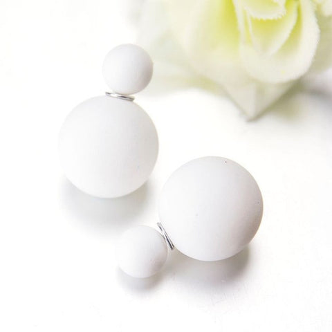 Terreau Kathy Brand Bijoux Fashion 2016 New Summer Style Hot Selling Big Size Silicone Simulated Pearl Earrings For Women-Devices Depot-white-KoolWish.com