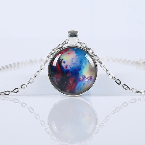 TOMTOSH 2016 New Fashion Galaxy Necklaces Nebula Space Glass Cabochon Pendants Brand Jewelry for Women Men Best Friend Ship Gift-Necklaces-Devices Depot-style1-KoolWish.com