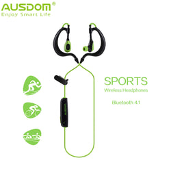 TOP selling Ausdom S09 era-hook headset Bluetooth 4.1 Sport headphone Wireless Stereo Earphone hand-free and noice cancelling-Earphones-KoolWish.com-China-KoolWish.com