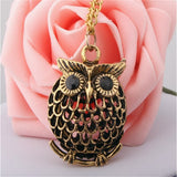 Vintage Necklaces Women Owl Feather Heart Butterfly Cat Pendant Necklace Antique Collares Fashion Jewelry Bijoux One Direction-Necklaces-Devices Depot-N647-KoolWish.com