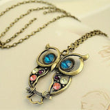 Vintage Necklaces Women Owl Feather Heart Butterfly Cat Pendant Necklace Antique Collares Fashion Jewelry Bijoux One Direction-Necklaces-Devices Depot-XS009-KoolWish.com