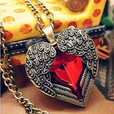 Vintage Necklaces Women Owl Feather Heart Butterfly Cat Pendant Necklace Antique Collares Fashion Jewelry Bijoux One Direction-Necklaces-Devices Depot-N102-KoolWish.com