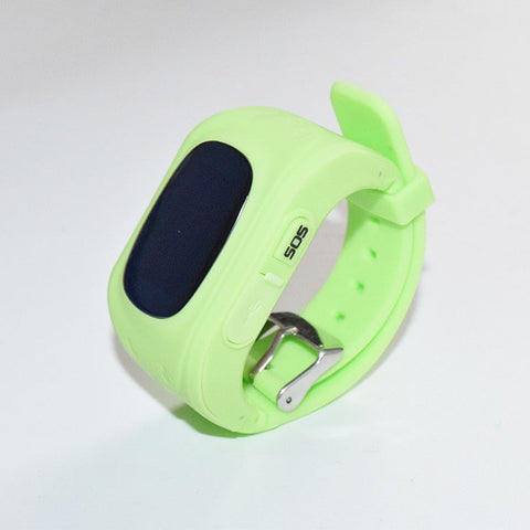 Vwar Q50 GPS Smart Kid Safe smart Watch SOS Call Location Finder Locator Tracker for Child Anti Lost Monitor Baby Son Wristwatch-Devices Depot-Green-KoolWish.com