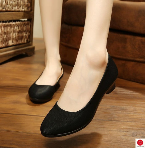 Women Ballet Shoes Women Wedges Shoes for Work Cloth Sweet Loafers Slip On Women's Pregnant Wedges Shoes Oversize Boat Shoes-Devices Depot-6608H-6-KoolWish.com