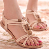 Women Shoes Sandals Comfort Sandals Summer Flip Flops 2016 Fashion High Quality Flat Sandals Gladiator Sandalias Mujer-Devices Depot-White-5.5-KoolWish.com