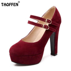 women stiletto high heel shoes sexy lady platform spring fashion heeled pumps heels shoes plus big size 31-47 P16737-Devices Depot-Beige-4-KoolWish.com