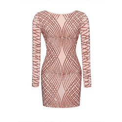 8b77b0122d0 Womens Sexy Dresses Party Night Club Dress 2017 Hot New Fashion Bodycon  Sequined Backless Dress Long