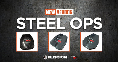 Steel Ops' Armor Plates Available in Bulletproof Zone