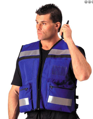 image of man wearing Legacy Safety IIIA EMS / Security Vest