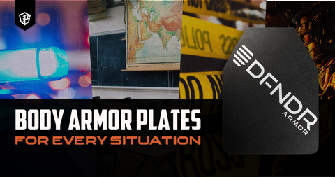 Body Armor Plates for Every Situation