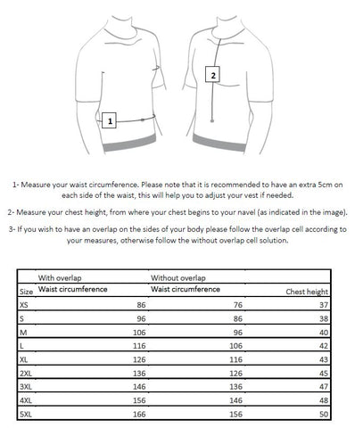 EnGarde DeLuxe Concealable Carrier + Level IIIA Bulletproof and Stab Proof MT-PRO panel sizing guide