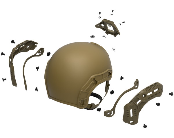 Bulletproof Helmet Attachments