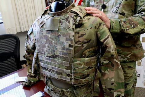 Military Concealable Body Armor Bulletproof Vest