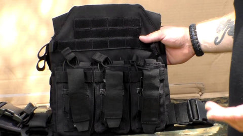plate carrier attachments