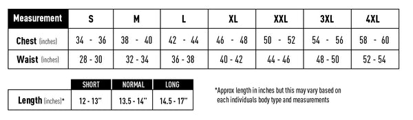 SafeGuard Armor Ghost Concealed Bullet Proof Vest Body Armor Male Sizing Chart