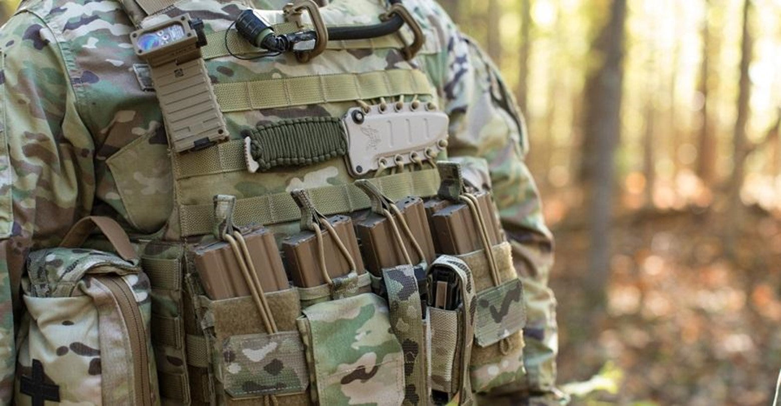 Image of a Tactical Plate Carrier Vest