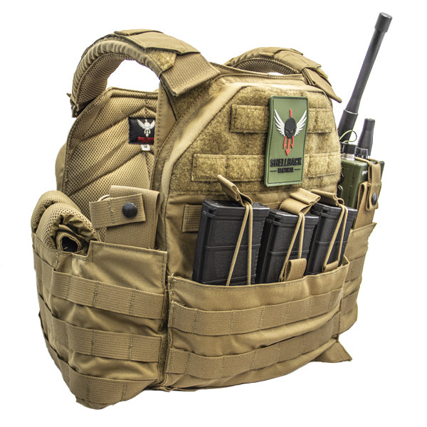 Shellback Tactical SF Plate Carrier in Coyote