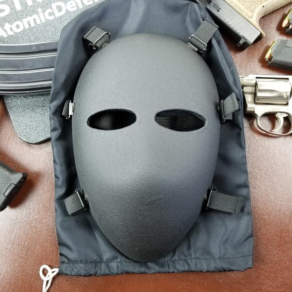 Atomic Defense Bulletproof Mask | Ballistic Full Face | Level IIIA+ | Padded | Milspec ✅