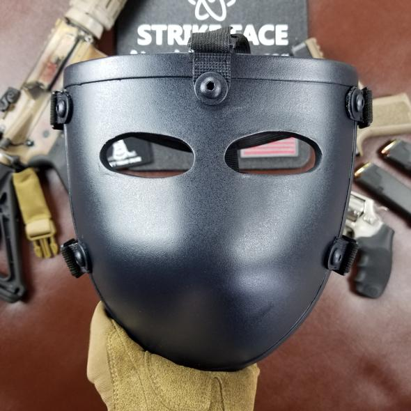 Atomic Defense Bulletproof Mask for Helmets | Ballistic Facemask for Sale | Level IIIA+ | Padded | Milspec ✅