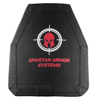 Spartan Armor Level III+ Ceramic/Composite 10x12 Plates (Set of Two)