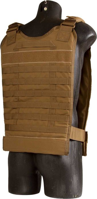 North American Rescue Tactical Responder Vest MKII in Coyote