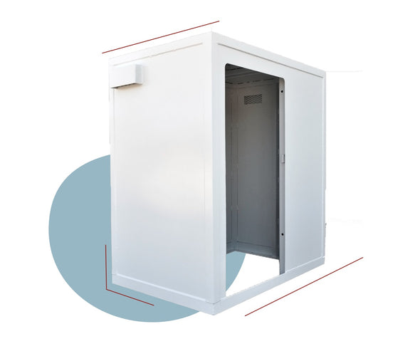 RemainSafe SteelSafe 4×6 Above-Ground Interior Safe Room