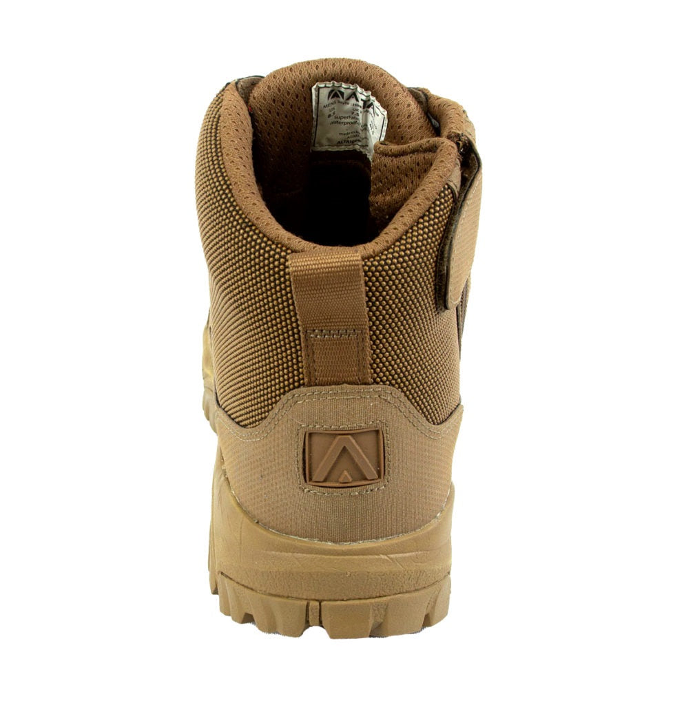 "ALTAI Brown Hiking Waterproof Side Zip 6"" Boots (MFH200-ZS)"