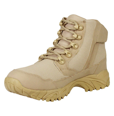"ALTAI Tan Work Waterproof Side Zip 6"" Boots (MFM100-ZS)"