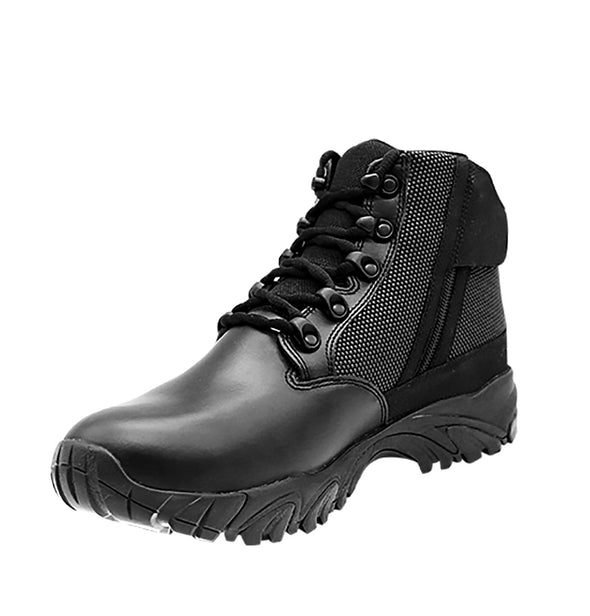 "ALTAI Black Tactical Waterproof Side Zip 6"" Boots (MFT100-ZS)"