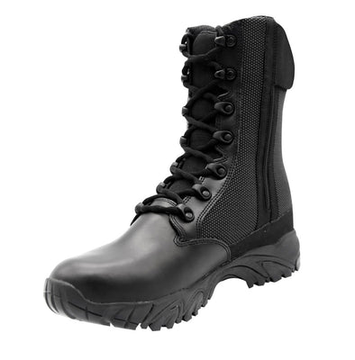 "ALTAI Black Tactical Waterproof Side Zip 8"" Boots (MFT100-Z)"