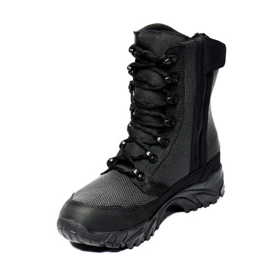 "ALTAI Black Tactical Waterproof Side Zip 8"" Boots (MFT200-Z)"