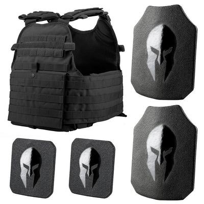 Condor MOPC Plate Carrier and Spartan Level III AR500 Body Armor Platform