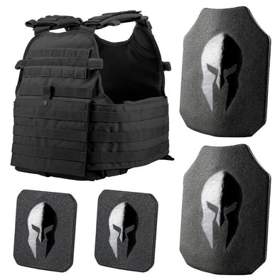 Condor MOPC Plate Carrier and Spartan Level III+ AR550 Body Armor Platform
