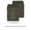 Jumpable Plate Carrier™ Side Plate Pouch Set
