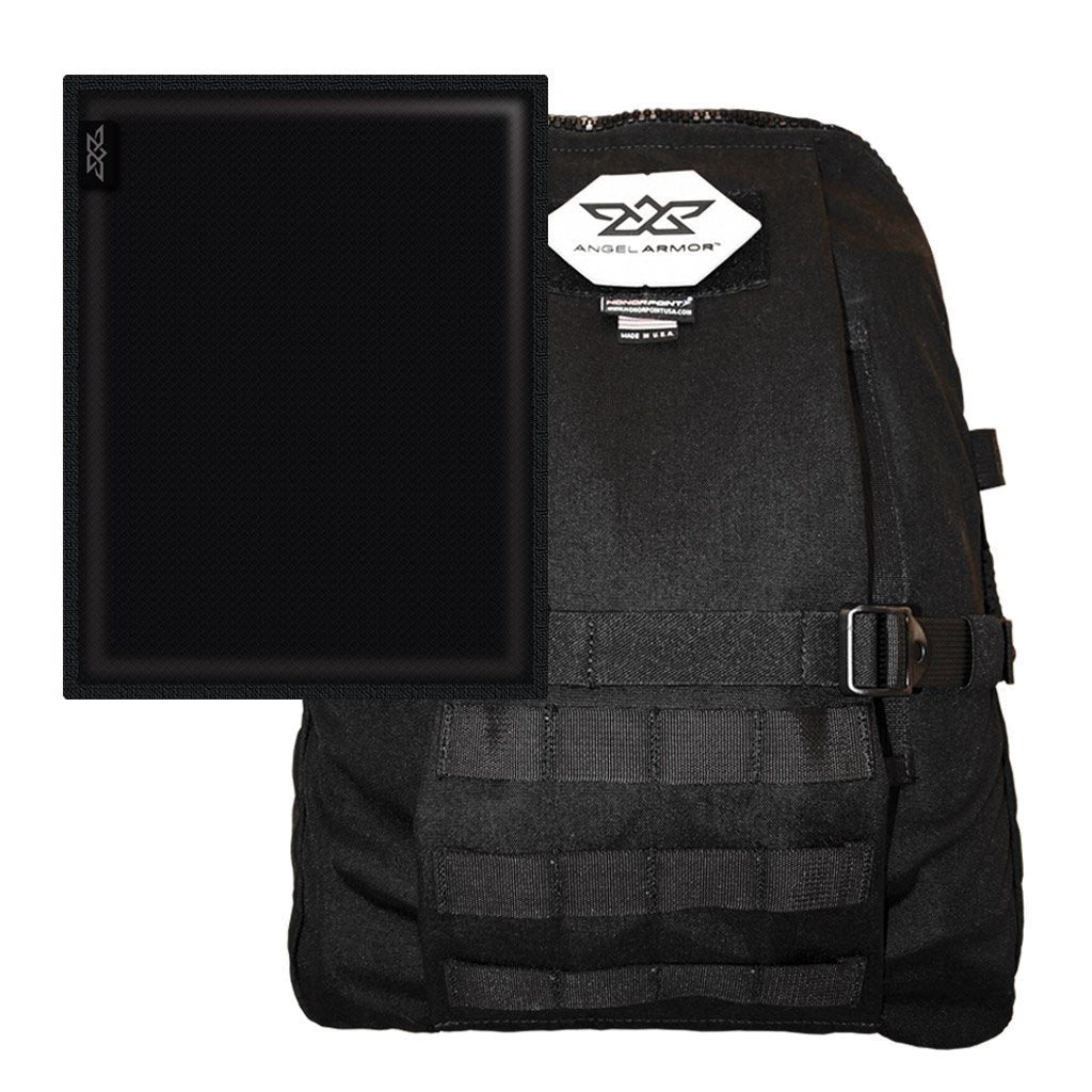 Angel Armor ALLY ONE Level IIIA Bulletproof Concealable Backpack Armor Insert