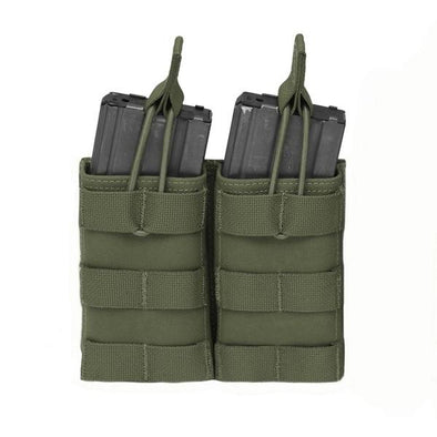 Warrior Assault Systems Double MOLLE Open M4 5.56mm Mag Pouch