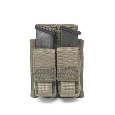 Warrior Assault Systems Double DA 9mm Pistol Pouch
