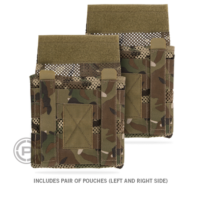 Jumpable Plate Carrier™ Side Plate Pouch Set Maritime