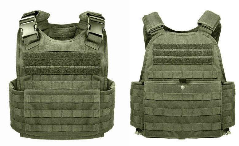 Legacy Tactical Plate Carrier with Cummerbund in OD Green