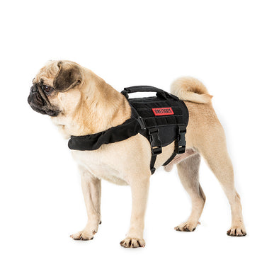 Tactical MOLLE Dog Harness for Small Dogs