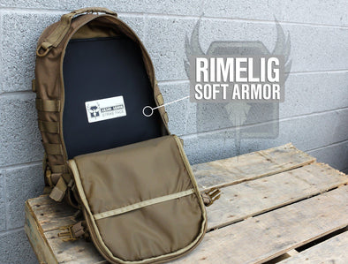 AR500 Armor Rimelig 11x15 Level IIIA Backpack Soft Body Armor
