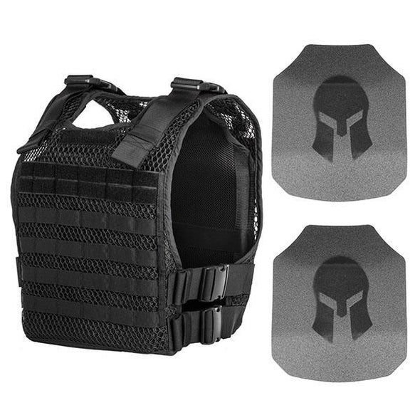 221B Phantom Plate Carrier + Level III+ Body Armor Package