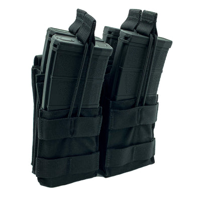 Shellback Tactical Double Stacker Open Top M4 Mag Pouch